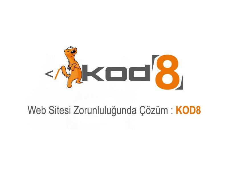 Web Sitesi Zorunluluğunda Çözüm - KOD8