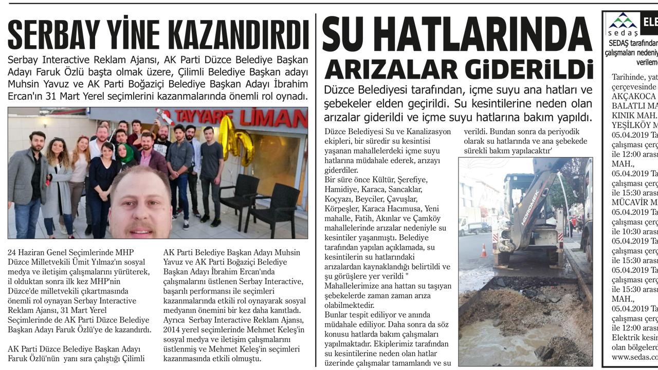 Düzce Parantez Gazetesi