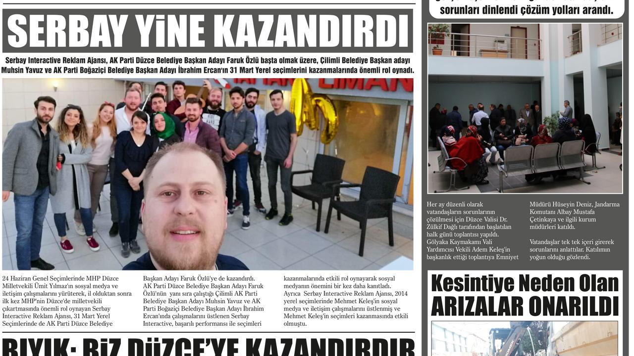 Günaydın Düzce Gazetesi