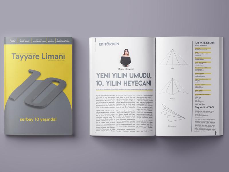 Tayyare Limanı Dergisi İlk Sayısı Yayınlandı