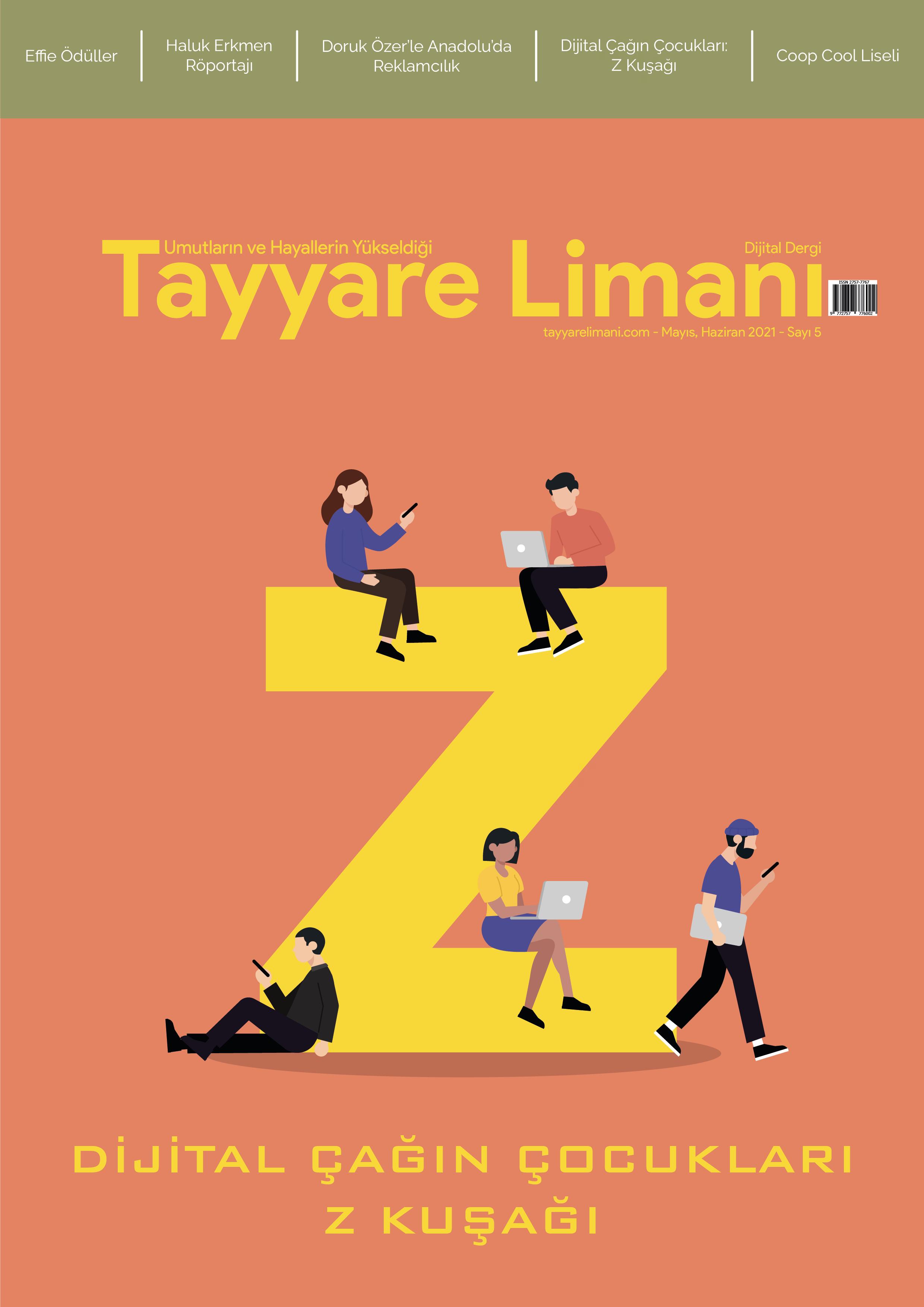 Tayyare Limanı Dergisi: Mayıs Haziran 2021